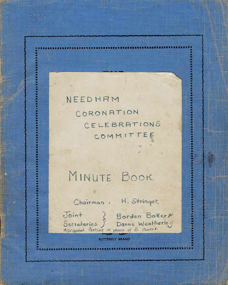 Coronation Minutes Book 1952