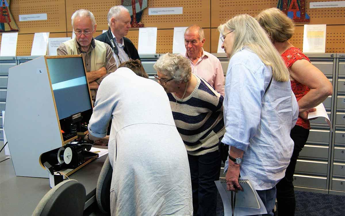 Needham and Brockdish Millennium Library visit